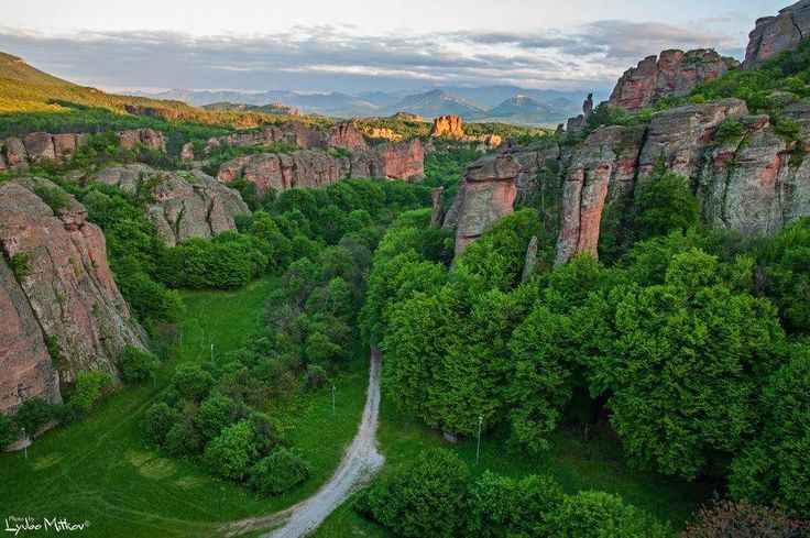 Belogradchik - shortlisted to be one of the new 7 wonders of the world. Special rock formations in Bulgaria close to the Unique adventures resport which is surrounded by untouched forests and mountains.