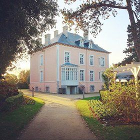 """The Master's BeginningsMusée Christian Dior, Granville - Unless you shop in their boutiques, it's not easy to honor the giants of fashion in France.Normandy. """"Every woman should have pink in her wardrobe,"""" Dior famously said. """"It is the color of happiness."""" Probably no coincidence, then, that pastel pink is the color of Les Rhumbs, the villa bought by the Dior family in 1905, the year Christian was born."""