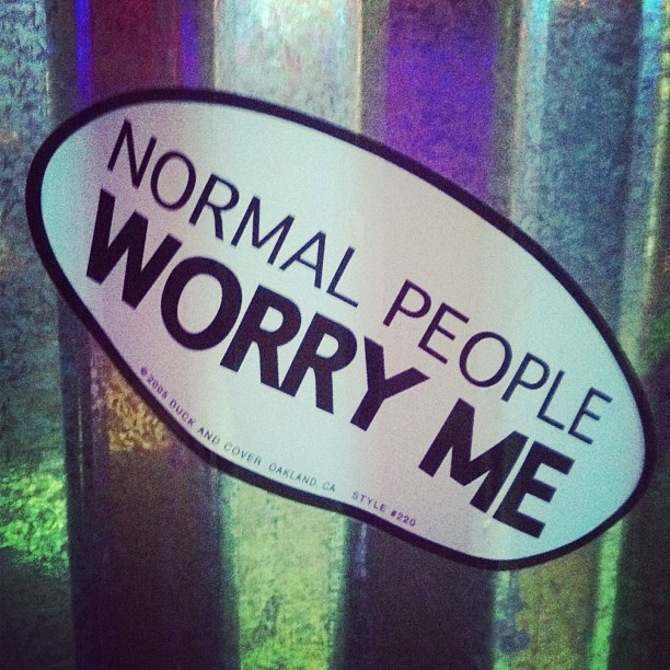 Normal people bumper stickers lolsotrue true true photo credit laughter medicine facts bumper stickers for cars