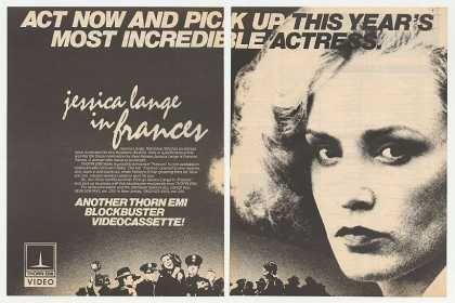 Found this movie to be super haunting.    *****************Frances Farmer***********