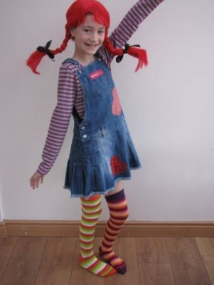 Pippi Longstocking  #worldbookday #worldbookdaycostumes #dressingup