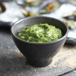 Love this over Tuna//Italian Salsa Verde Recipe
