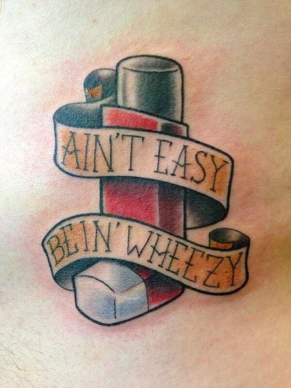 10 Creative Asthma TattoosBethanie