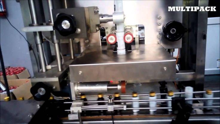 Shrink sleeve Applicator for Syrup Bottle , Shrink Sleeve labeling machine