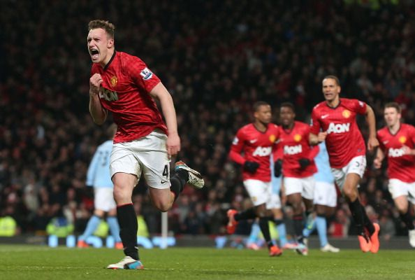Phil Jones vs. Manchester City