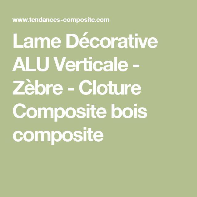 les 25 meilleures id es de la cat gorie lame composite cloture sur pinterest lame pvc cloture. Black Bedroom Furniture Sets. Home Design Ideas