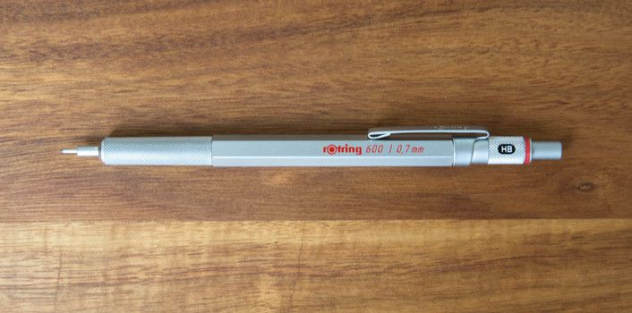 Rotring 600 - holy mother of graphite