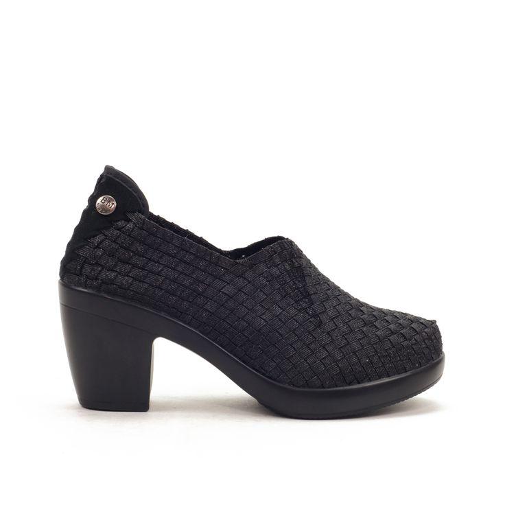 Zapato abotinado de tejido trenzado que ajusta perfectamente el pie sin necesidad de abrochar. Plantilla de MEMORY FOAM. Zapato con una combinación excelente de trenzado elástico y plantilla con memoria. Te encantará su comodidad. Plataforma y tacón extremadamente ligeros, flexibles, transpirables y confortables. Las plantillas de Memory Foam distribuyen la presión del cuerpo, adaptándose a la forma del pie y ofreciendo máximo confort durante todo el día.