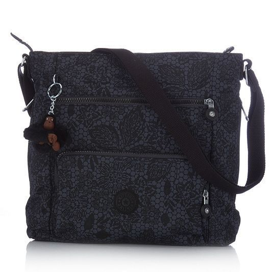 Kipling Lyneth Crossbody Bag With Adjule Shoulder Strap Qvcuk Beautiful Bags