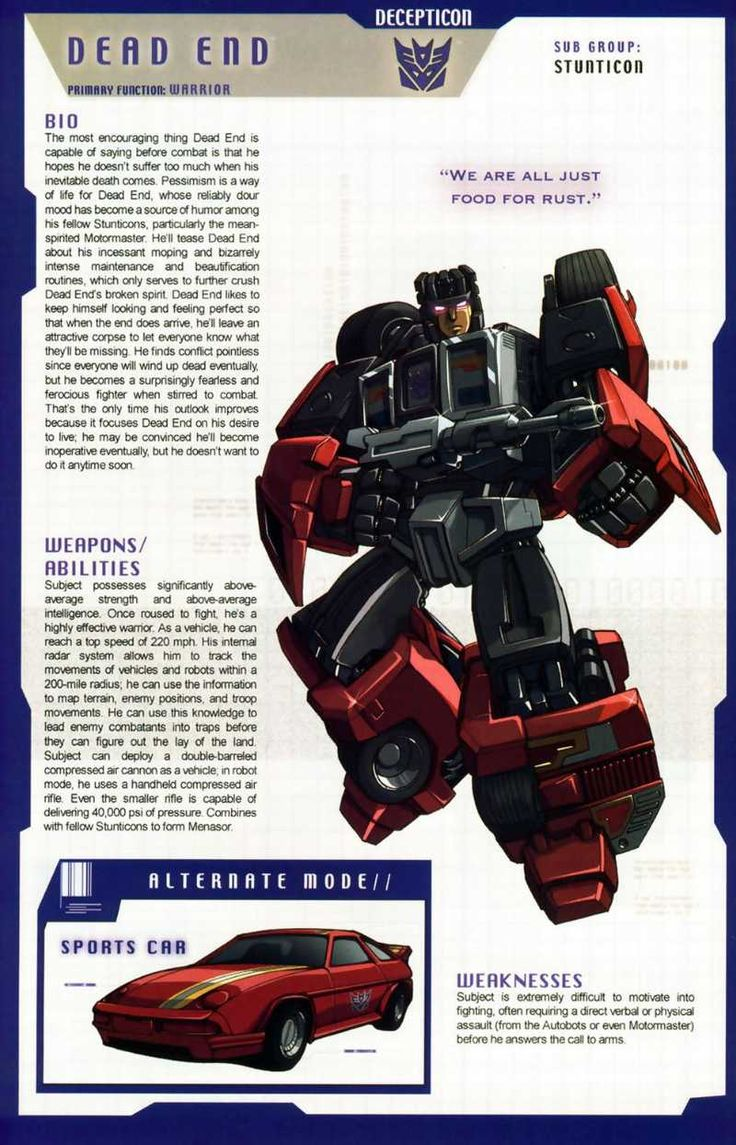 Transformers Universe - Gallery: G1 Stunticons
