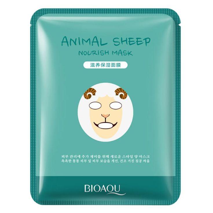 New Korean Cosmetics Face Makeup Mask,Face Care Mask,Animal Tiger Supple Mask Moisturizing Whitening 30g