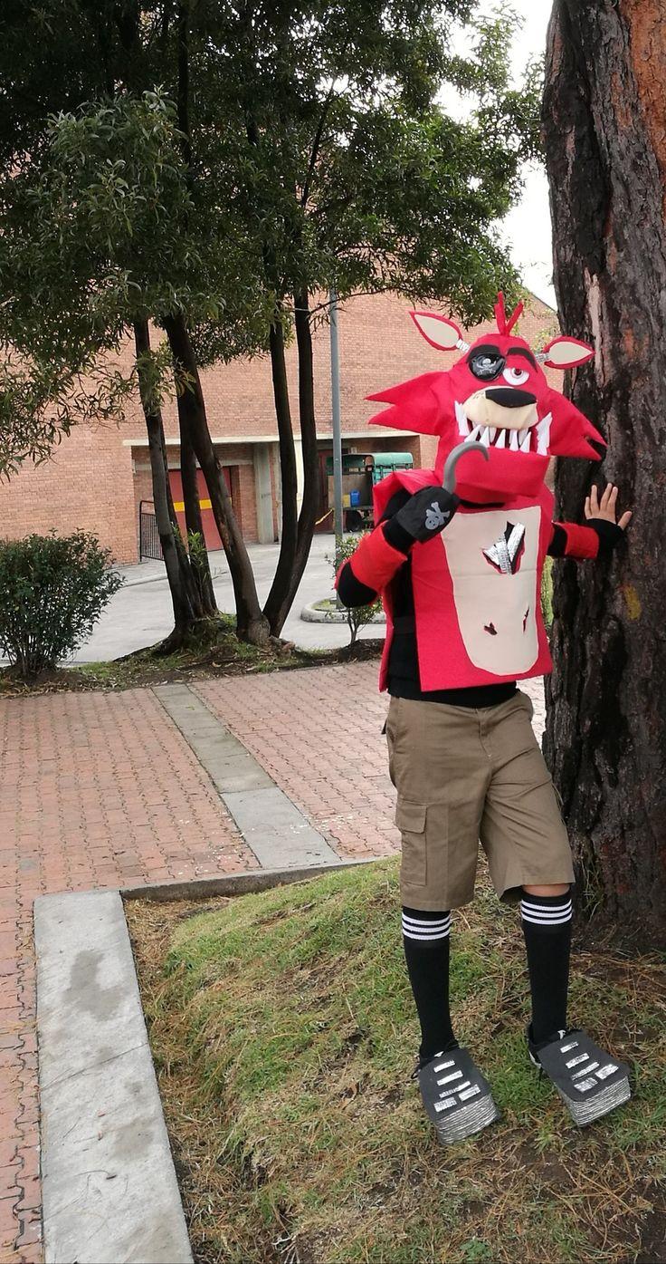 Halloween, Foxy five night at Fredy, Disfraz, Manualidades
