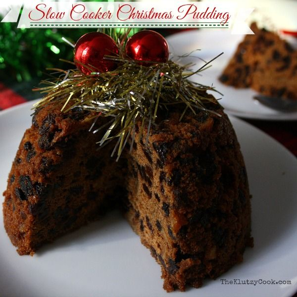 Slow cooker Christmas Pudding is the easiest way to make a traditional pudding. No need for cloths or pots of boiling water. Click for recipe and method.