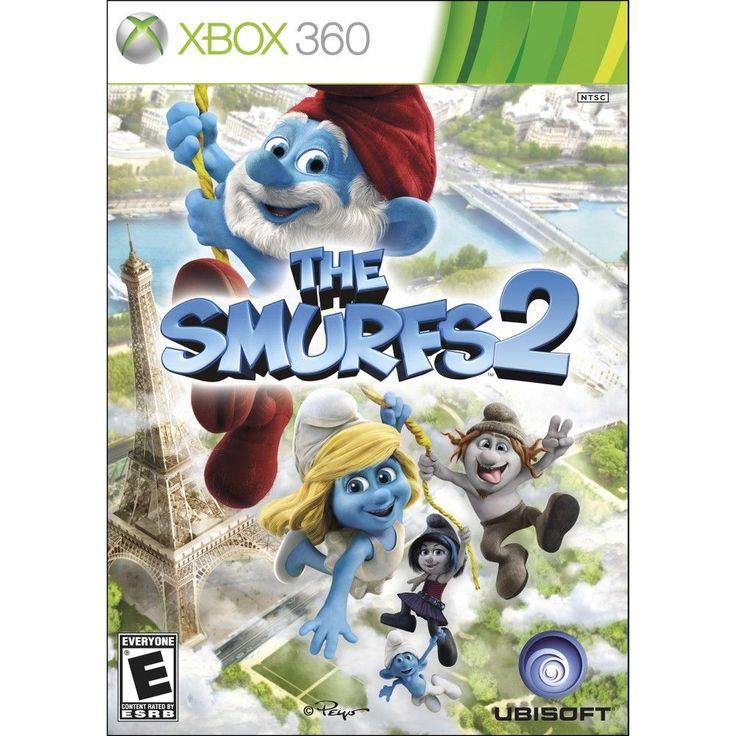 Smurfs 2 (Xbox 360), Console Video Game