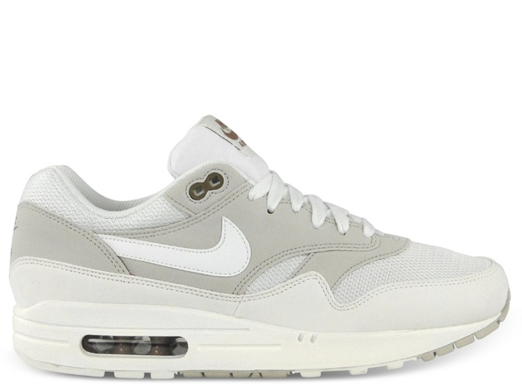 more photos b7873 0af1d Nike Air Max 1 Shoes - Light Bone Summit White