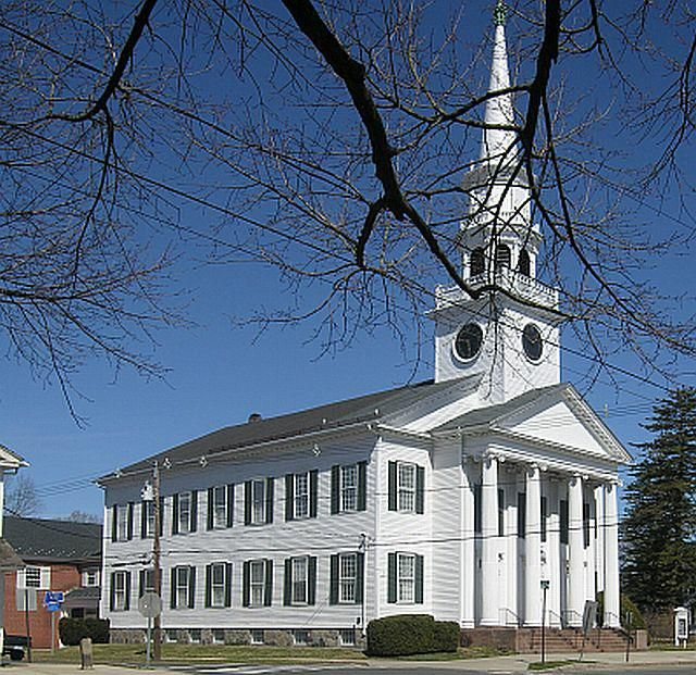 One of the churches from my hometown of Guilford, Connecticut