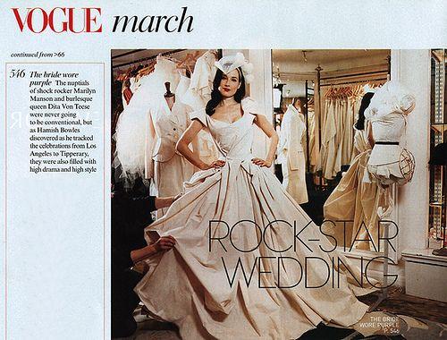 Mich Dulce Blogged: Wedding Dress Dreams | M | Pinterest | Dita ...