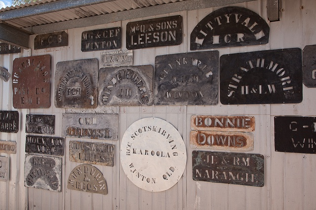 Wool Bale Stencils by Serendigity, via Flickr