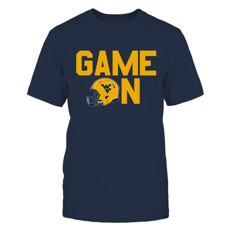"GAME ON - WEST VIRGINIA MOUNTAINEERS T-Shirt, WEST VIRGINIA MOUNTAINEERS OFFICIAL APPAREL Limited Edition - Not Sold In Stores Check your size by clicking on ""Buy It Now"". 100% Designed & Printed in the USA!  The West Virginia Mountaineers Collection, OFFICIAL MERCHANDISE  Available Products:          Gildan Unisex T-Shirt - $25.95 Gildan Women's T-Shirt - $27.95 District Women's Premium T-Shirt - $29.95 District Men's Premium T-Shirt - $27.95 Gildan Unisex Pullover Hoodie - $49.95 Next…"