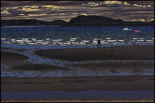 Early May at Qualicum Beach, E.J. Hughes 1956 (Canada)