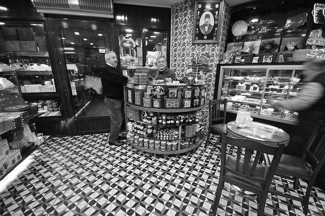 "Hafiz Mustafa 1864 // @Hocapasa Mahallesi Muradiye Caddesi No: 51 // Coffee, baklava, lokum (""turkish delight""), börek… simply wanted to try everything here"