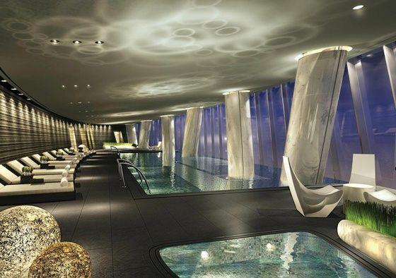 Le Four Seasons Hotel à Guangzhou, Chine