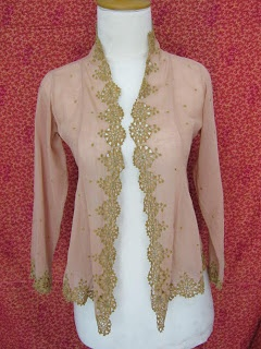 Kebaya....great with jeans