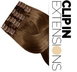 Clip In Extensions Echthaar Haarclips - Echthaar Clip In Extensions bei Rubin bestellen