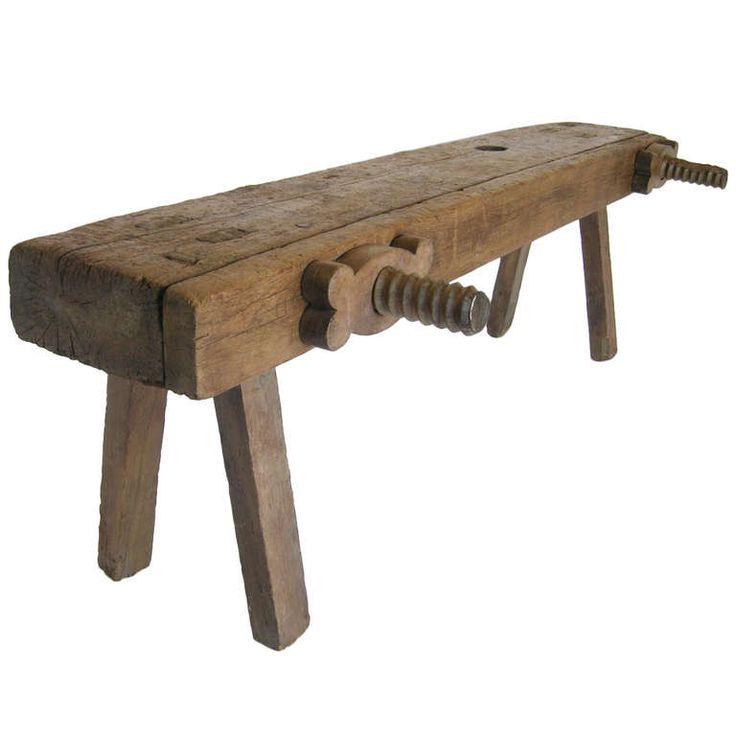 19th Century Carpenter's Bench | 1stdibs.com