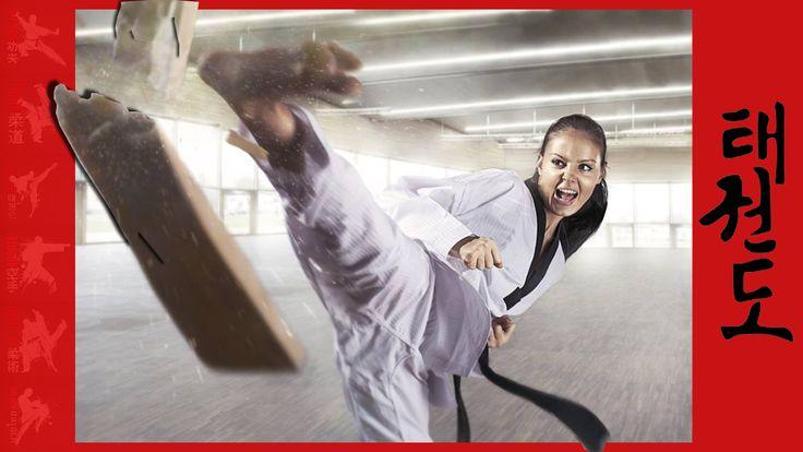 Martial Art Board Breaking Womens Competition #martialart #breaking