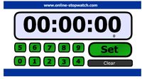 Various countdown timers. Can downloaded and used in Smart Notebook