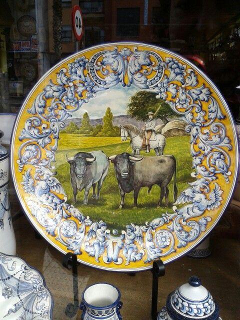 237 best images about espa a porcelana y cer mica popular - Azulejos reina ...