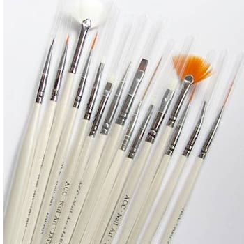 7 Types Of Nail Art Brushes