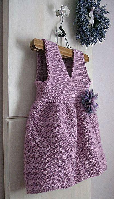 Crossover crocheted jumper