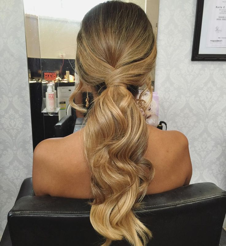 """""""I love ponytails! Tutorial coming soon #hairbygabrielle #ponytail #hairstyle #melbournehairstylist"""""""