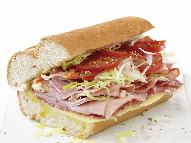 Italian Subs Recipe : Food Network Kitchen : Food Network - FoodNetwork.com