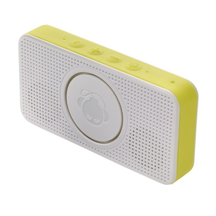 Boomphones Pocket Speaker - Yellow Model  BPSK01YL Condition  New  Boomphones Pocket Speaker termurah hanya di Gudang Gadget Murah. The Pocket Speaker was designed specifically with loud sound in mind. Equipped with a 360-degree audio architecture, it brings room-filling sound to a pocket-size frame that tucks away just about anywhere you want it to go - Yellow