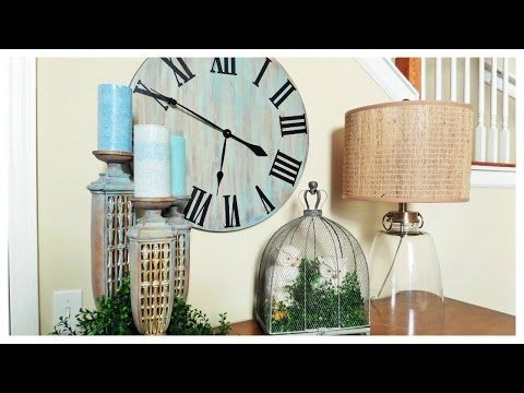 DIY Rustic Wall Clock - Be My Guest With Denise