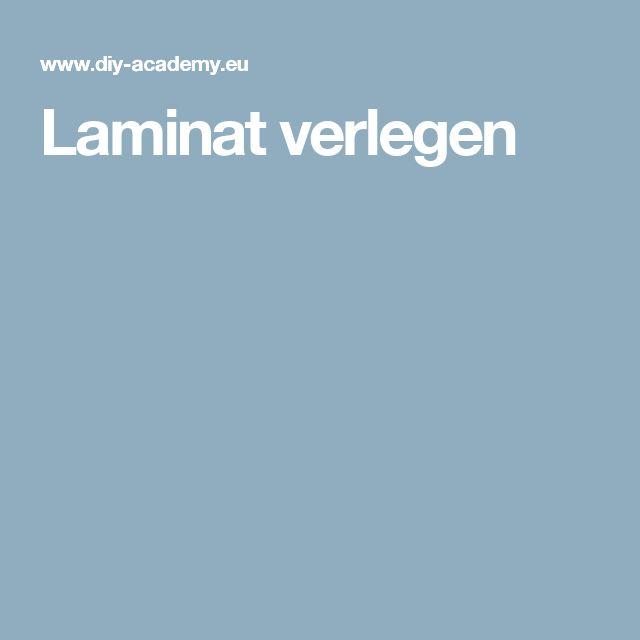 Luxury Laminat verlegen