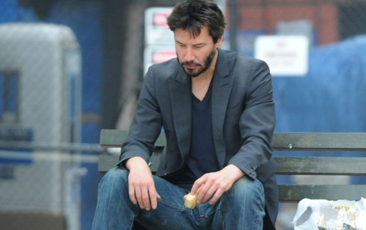 You'll need a hanky to make it all the way through this sad viral video recounting the tragic life story of 'Matrix' actor Keanu Reeves.