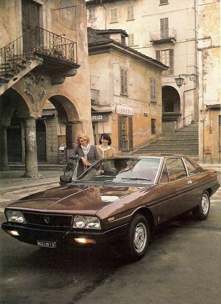 Only the Italians could design this beauty: 1977 - 1984 LANCIA GAMMA COUPE - by Carrozzeri Pininfarina