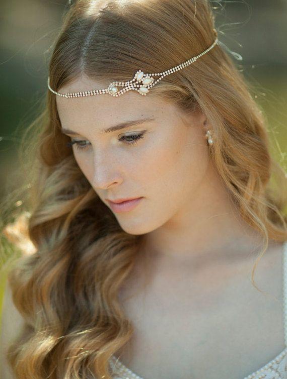 Bridal Hair Accessories Boho : Best 25 bridal hairbands ideas on pinterest 1920s headband