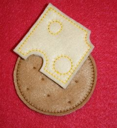 Hey, I found this really awesome Etsy listing at https://www.etsy.com/listing/215634245/cheese-and-crackers-felt-play-food