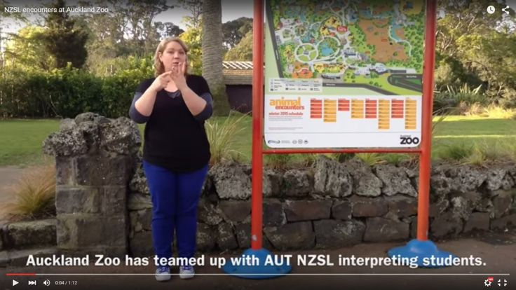 NZSL encounters at Auckland Zoo