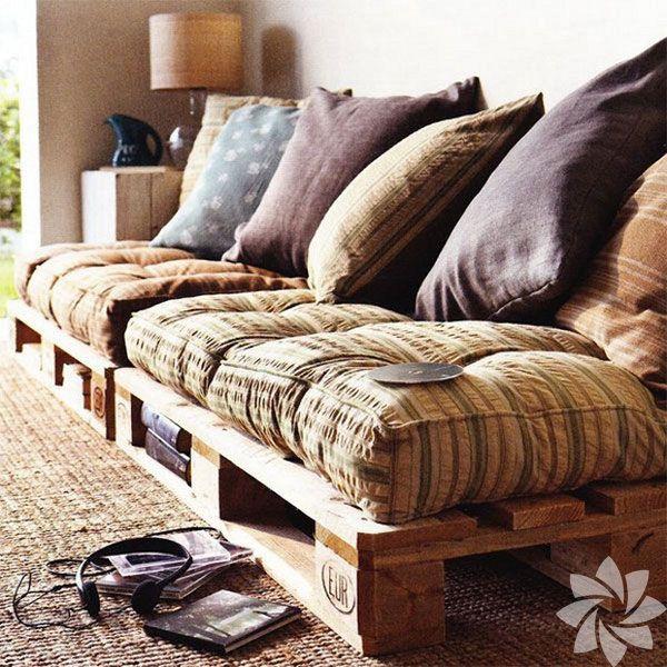 El yapımı mobilyalar misafirleri hayran bırakır!