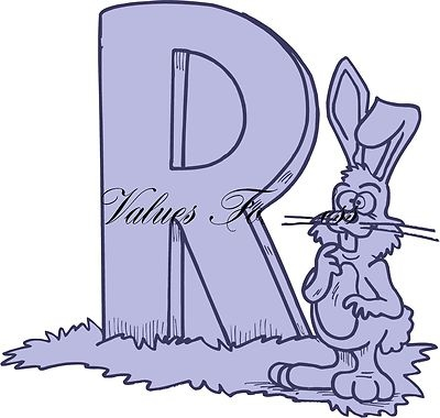 r is for rabbit  is for Rabbit Custom