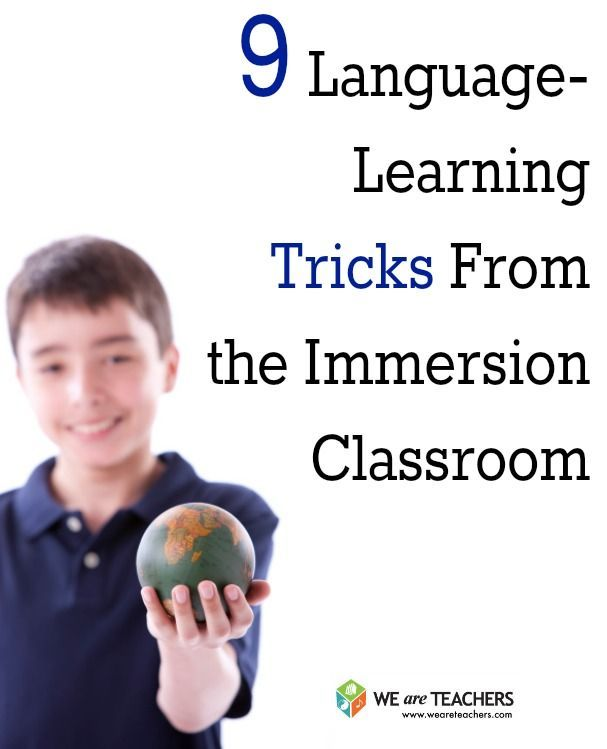 What ALL Teachers Can Learn From Foreign Language Immersion Programs #weareteachers