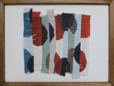 """Saatchi Art Artist Ana Montoya; Collage, """"Vertical"""" #art"""
