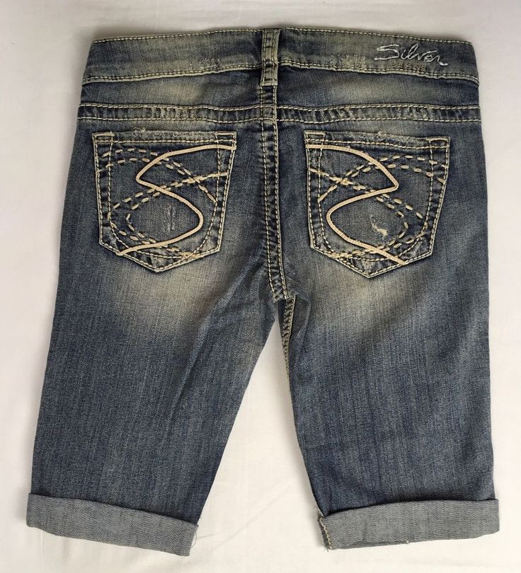 SILVER JEANS Cheap Sale Buckle Low Frances Destructed Denim Jean ...