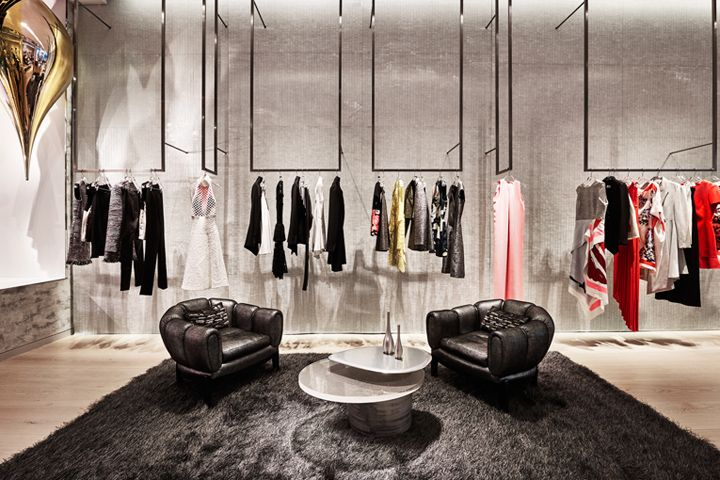 Dior store by Peter Marino, New York City   US luxury fashion